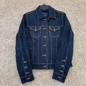 Levi's original Western Dark Denim Jacket